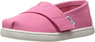 TOMS Girls' 10009918 Alpargata-K, Pink, 3 M US Infant