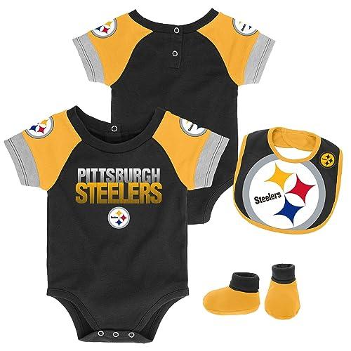 cf06f761a NFL Unisex-Baby Newborn   Infant 50 Yard Dash Bodysuit