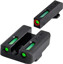 TRUGLO TFX Pro Tritium and Fiber Optic Xtreme Hangun Sights for Glock Pistols