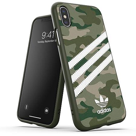 アディダスオリジナルス iPhone XS Max ケース SAMBA (サンバ) カモ x ロー・グリーン [adidas OR Moulded Case CAMO WOMAN FW19 for iPhone XS Max raw green]