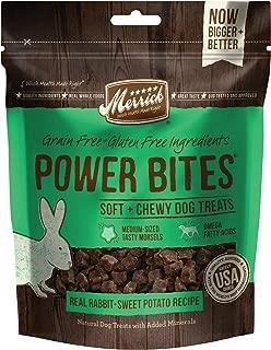 Merrick Power Bites Real Rabbit Dog Treats