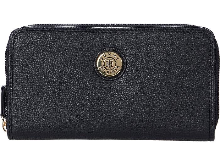 Tommy Hilfiger Tommy Hilfiger Signature Large Button Wallet
