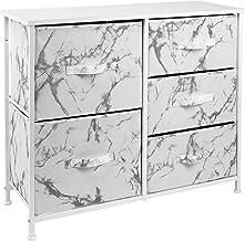 Sorbus Dresser with 5 Drawers - Furniture Storage Tower Unit for Bedroom, Hallway, Closet, Office Organization - Steel Fra...
