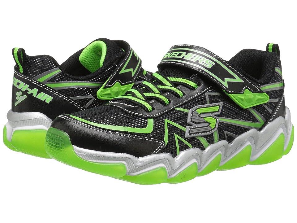 SKECHERS KIDS Skech Air 3.0 97411L (Little Kid/Big Kid) (Black/Lime) Boy
