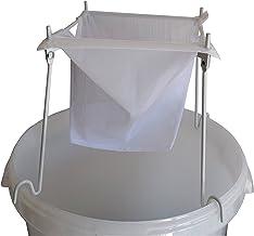 Nylonfilter mit Metallgestell - zur Filtrierung von Weinen, Bieren, Säften, Maischen usw.