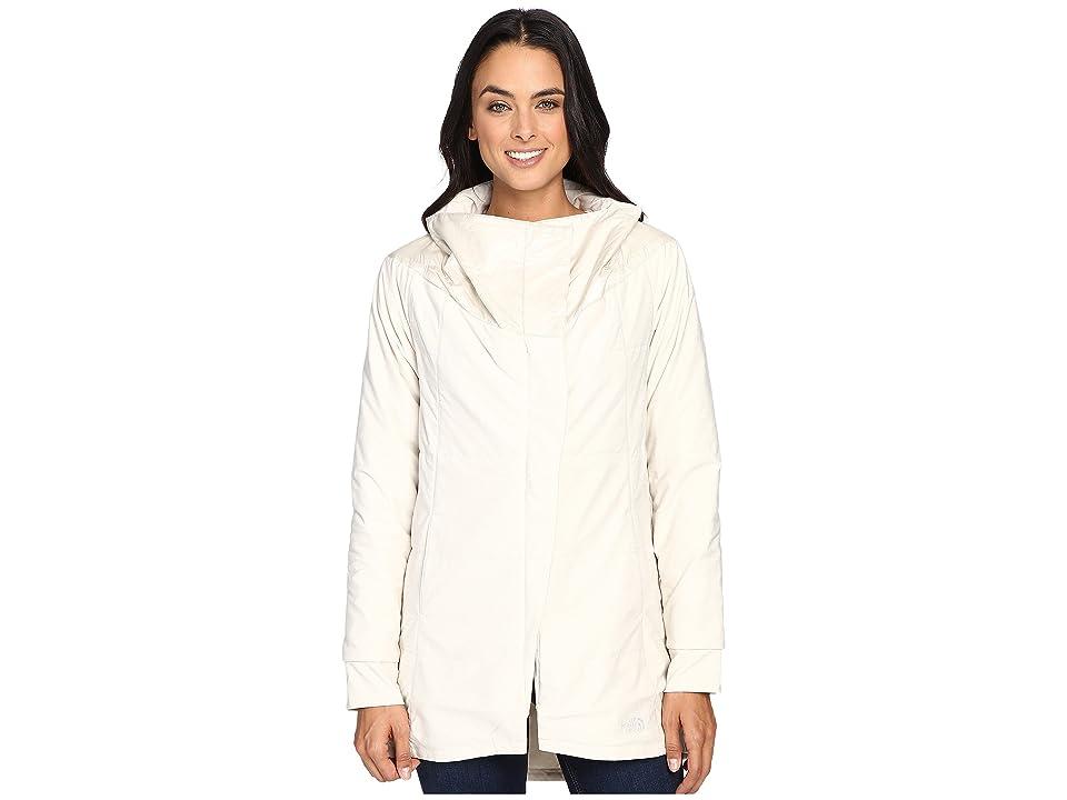 The North Face Long Pseudio Jacket (Moonlight Ivory Heather/Moonlight Ivory (Prior Season)) Women