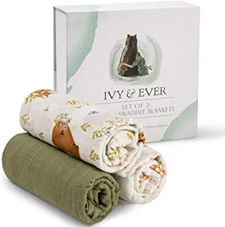 IVY EVER Organic Swaddle Blankets
