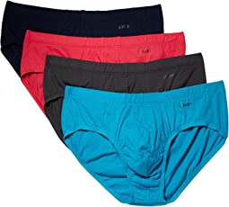 Essentials 4-Pack Bikini Brief