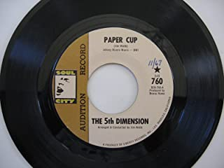 Fifth Dimension, Paper Cup b/w Poor Side of Town. 45 RPM single