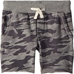 Camo Cotton French Terry Shorts (Toddler)