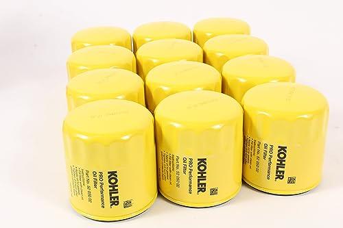 2021 KOHLER 52 online 050 02-S Engine Oil Filter Extra Capacity For CH11 - CH15, CV11 - CV22, M18 - M20, MV16 - MV20 And K582- popular 12 pack online sale