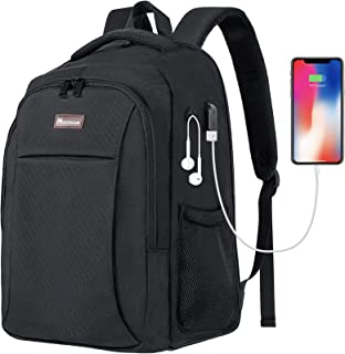 Modoker Slim Travel Backpack Duffle Backpack with USB Charging Port, Suit Luggage Bag Carry on Weekend Backpack for Men Fi...