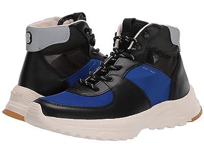 COACH C250 Tech Transparent Hiker (Black/Sport Blue) Men