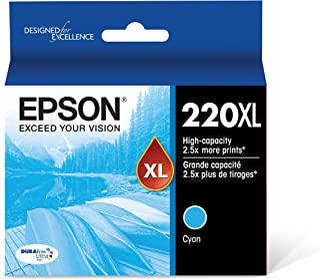 Epson T220XL220 DURABrite Ultra Cyan High Capacity Cartridge Ink