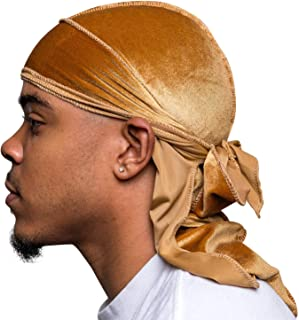 Superior Velvet Durags (Multiple Colors) - Soft Velvet Fabric | Silky Liner | Long Straps