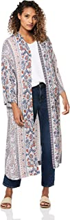 All About Eve Women's Paisley Longline Kimono