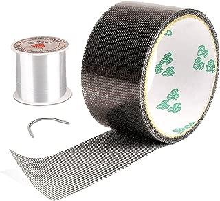 Screen Repair Kit, Door Window Screen Patch Tape Fiberglass Covering Wire Mesh Repair Tape Strong Adhesive Seal for Repair Holes Tears(2