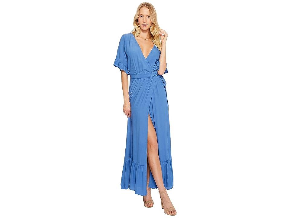 Lucy Love Enchanted Wrap Dress (Vintage Blue) Women