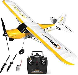 Top Race Rc Plane 4 Channel Remote Control Airplane Ready to Fly Rc Planes for Adults, Stunt Flying Upside Down, Easy & Ready to Fly, Great Gift Toy for Adults or Advanced Kids TR-C385