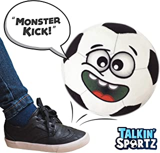 Talkin' Sports, Hilariously Interactive Toy Soccer Ball with Music and Sound FX for Kids and Toddlers by Move2Play