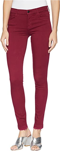 620 Mid-Rise Super Skinny Jeans in Deep Plum
