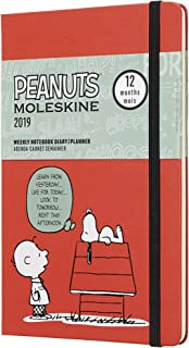 Moleskine Limited Edition Peanuts 12 Month 2019 Weekly Planner, Hard Cover, Large (5