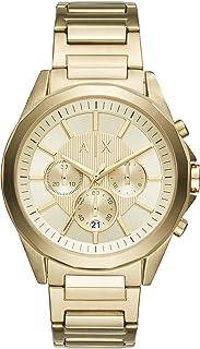 Armani Exchange Men's Stainless Steel Chronograph Dress Watch