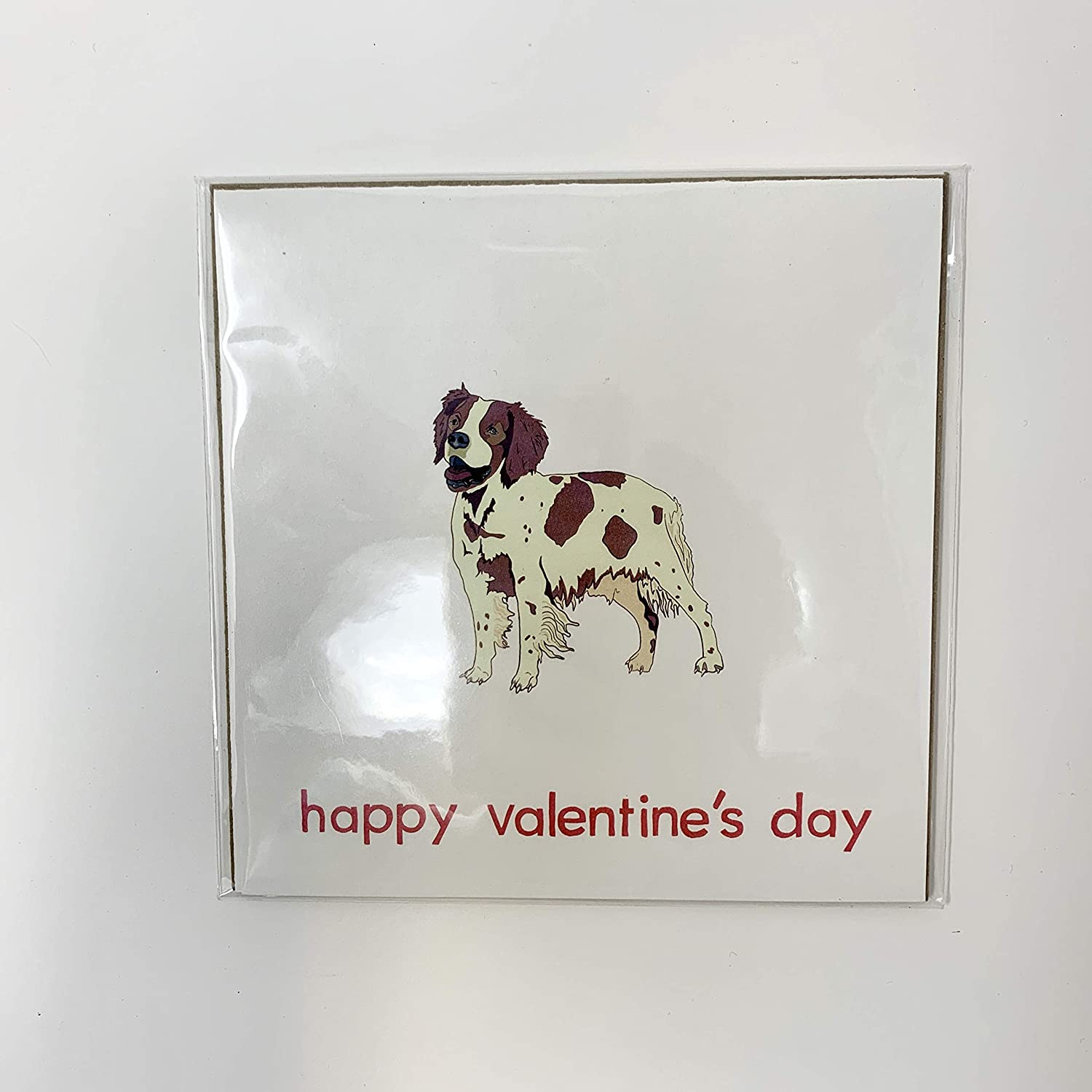 The Doggo Collection - Brittany Greeti Valentine's Max 64% OFF Happy Many popular brands Day Dog