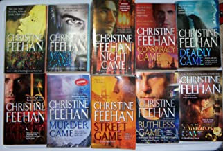 Christine Feehan Complete Ghostwalker Series 1-10 : Shadow Game/mind Game/night Game/conspiracy Game/deadly Game/predatory Game/murder Game/street Game/ruthless Game /Samurai Game (Set of 10 Books)