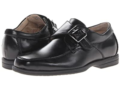 Florsheim Kids Reveal Monk Jr.(Toddler/Little Kid/Big Kid) (Black) Boy