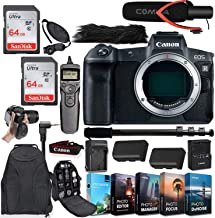 $1999 » Canon EOS R Mirrorless Digital Camera (Body Only) with Deluxe Accessories
