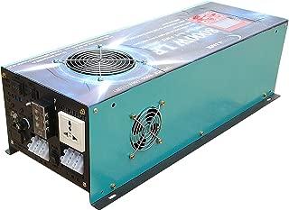 SUNGOLDPOWER 6000W Max 18000W Input 240VAC Split Phase 120V 240V Output Pure Sine Wave Inverter Charger 90A DC 24V Converter
