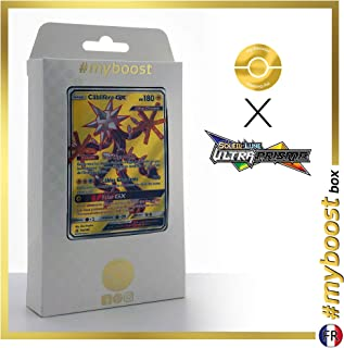 Câblifère-GX (Xurkitree-GX) 142/156 Full Art - #myboost X Soleil & Lune 5 Ultra-Prisme - Box of 10 Pokemon French Cards