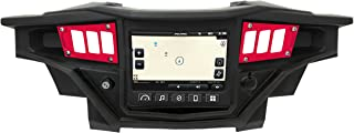 STV Motorsports 2017-2018 Polaris RZR XP 1000 RIDE COMMAND Custom Switch Dash Panel Plates with 4 free laser switches - 100% MADE in USA (red, 4 laser switch)