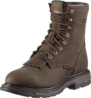 حذاء عمل ARIAT رجالي مقاوم للماء مقاس 8 بوصات