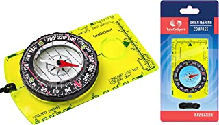 Orienteering Compass - Hiking Backpacking Compass - Advanced Scout Compass for Camping and Navigation - Boy Scout Compass Kids - Professional Field Compass Map Reading - Best Survival Gifts