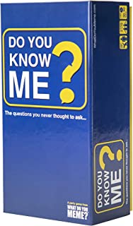 Do You Know Me? Adult Party Game by What Do You Meme?