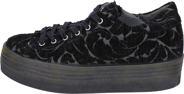 2 STAR Fashion-Sneakers Womens Black