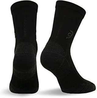 Travelsox The Best Dress and Travel Crew Compression Socks TSC, Black, Medium
