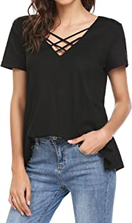 Best shirt with strings in front Reviews