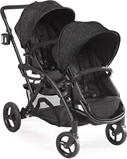 Contours Options Elite Double Stroller, Black