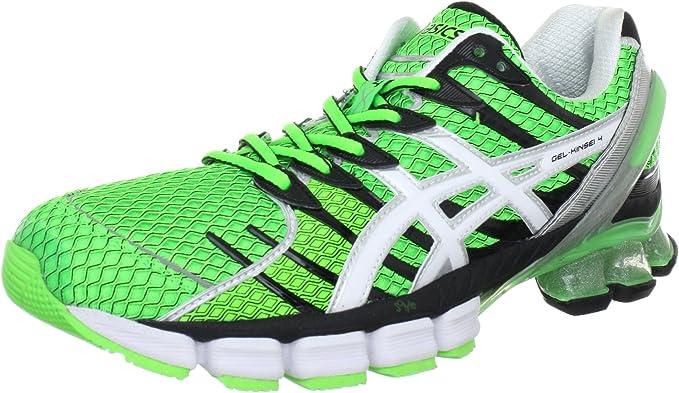 Amazon.com   ASICS Gel-Kinsei 4 Running Shoes - 14 - Green   Road ...