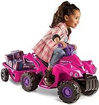 Huffy Kids Electric Ride On Car Mini Quad, Pink