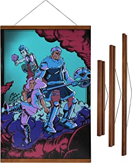 3 Stories Trading Company Magnetic Wooden Poster Hanger Frame, 12