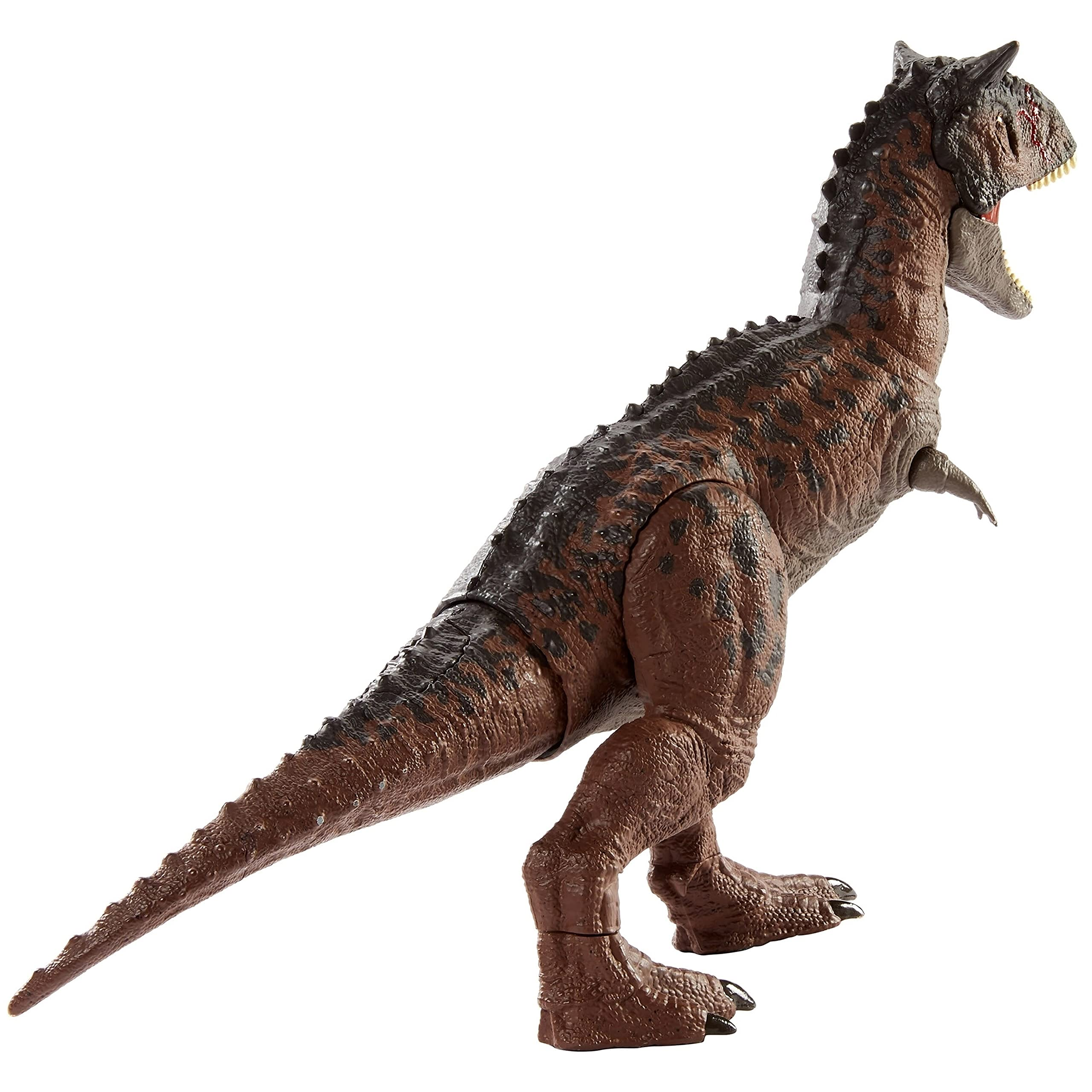 Jurassic World Camp Cretaceous Control 'N Conquer Carnotaurus Toro Large Dinosaur, Primal Attack Feature, Sounds, Movable Joints, Map & Stickers, Ages 4 Years & Up