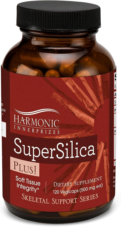 Harmonic Innerprizes Super Silica Veggie 120 Max 70% OFF Colorado Springs Mall Caps Plus