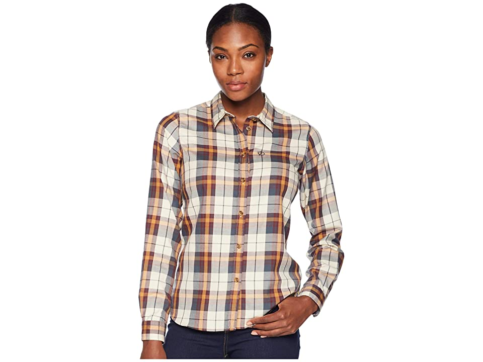 Fjallraven Ovik Flannel Shirt (Dusk) Women