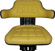 MASSEY FERGUSON TRACTOR UNIVERSAL SUSPENSION ADJUSTABLE YELLOW SEAT VAT INCLUDED