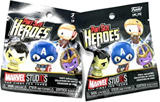 Collectors Corps 2 Limited Edition Gold Variant Pint Size Heroes - Marvel Studios The First Ten Years Edition