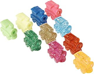 Train Marker Accessory Activity Assorted Color Dominoes, Set of 10